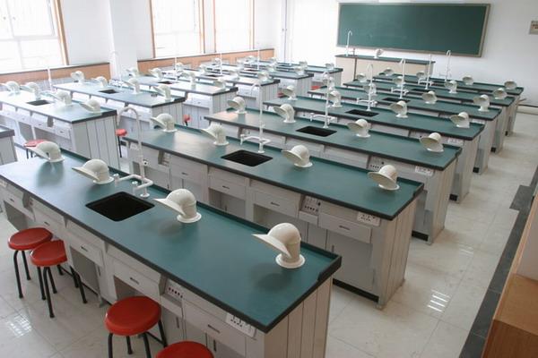 设备精良的化学实验室